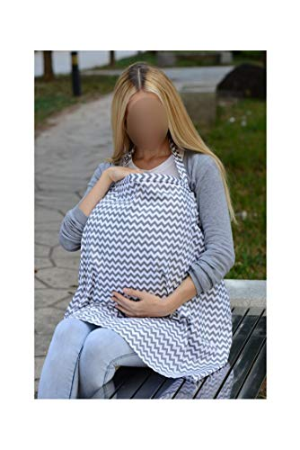 Review Of byYouthStore Breathable Breastfeeding Apron Cotton Mommy's Nursing Cover Borns Poncho for ...