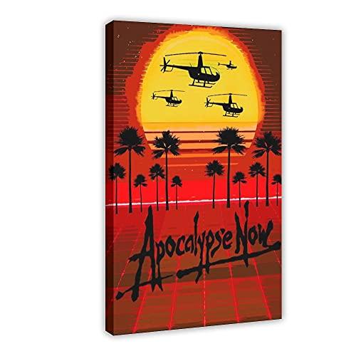 Affiche du film Apocalypse Now 9 - Décoration de chambre à coucher, de sport, de paysage, de bureau, de chambre, de cadeau, 40 x 60 cm