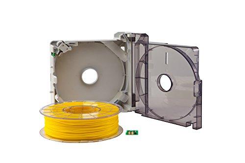 Sindoh 3DWOX Refillable Cartridge PLA Yellow (Compatible with DP200, DP201, 3DWOX 1), 3DP200PYE-A