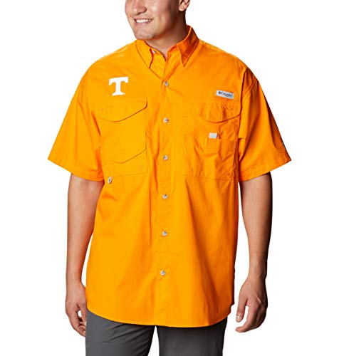 NCAA Tennessee Volunteers Men's Bonehead Short Sleeve Shirt, Large, UT - Solarize