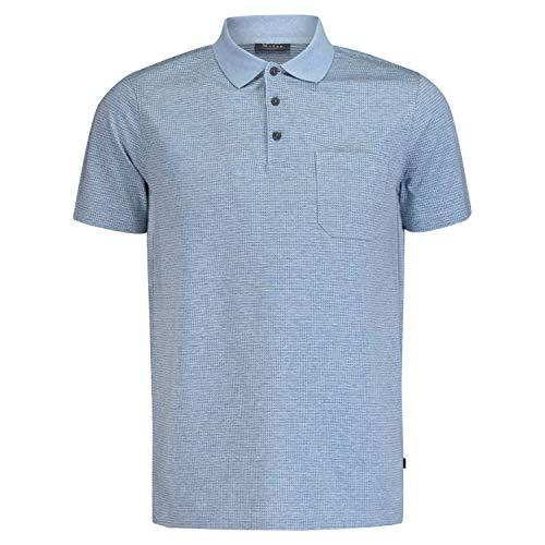 Maerz Muenchen Shirt Polohemd, Knopf 1/2 Arm, Star Blue, blau((346)), Gr. 54