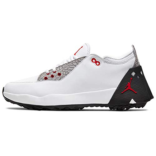 Nike Jordan ADG 2 Golf Shoe White/University RED-Black - 11