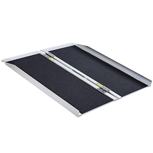 Extra Wide-31' Wide, 36' Long, 800 lbs Weight Capacity, Wheelchair Ramp, Ramps for Wheelchairs, Wheelchair Ramps for Home, Portable Wheelchair Ramp, Wheelchair Ramps for Steps, Aluminum Alloy