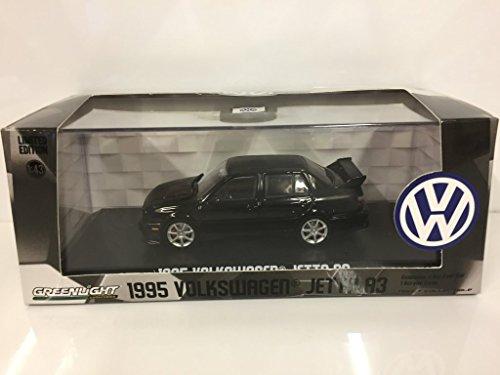 1995 Volkswagen Jetta A3 Black 1/43 Diecast Model Car by Greenlight 86314