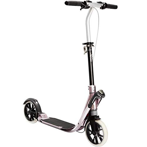 Learn More About YYIN Adjustable Height Folding Kick Scooters Double Shock Absorption Portable Campu...