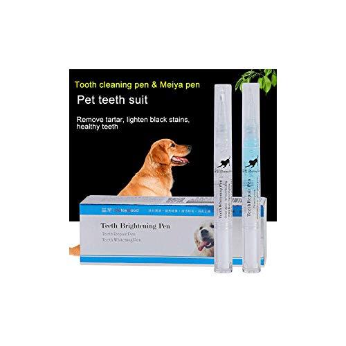 MissNature Pet Dog Cat Teeth Tartar Dental Calculus Stones Remover Tools Cleaning Pen Kit 5ml