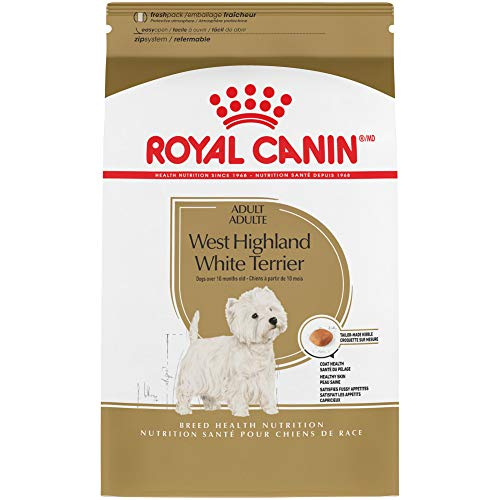 Royal Canin West Highland White Terrier Adult Breed Specific Dry Dog Food, 2.5 lb. bag