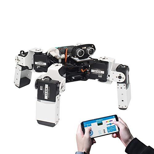 WXJHA Intelligent Education Kit Micro: Bit programmierbare Multifunktions-PC/APP Steuerung intelligente RC Roboter-intelligentes Spielzeug für Jungs einfach zu bedienen, flexibel & Conven