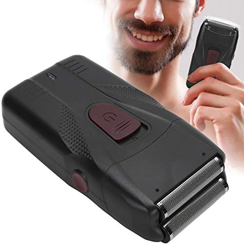 Cortadora de Cabello Eléctrica USB, Afeitadora de Cabeza Alternativa Dual, Kit de Cuidado del Cabello para Hombres, Afeitadora Rápida para Calvos, Cortadora de Cabello para Rostro y Cuello
