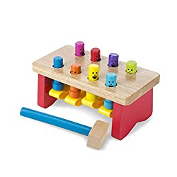 pounding bench pretend play toy