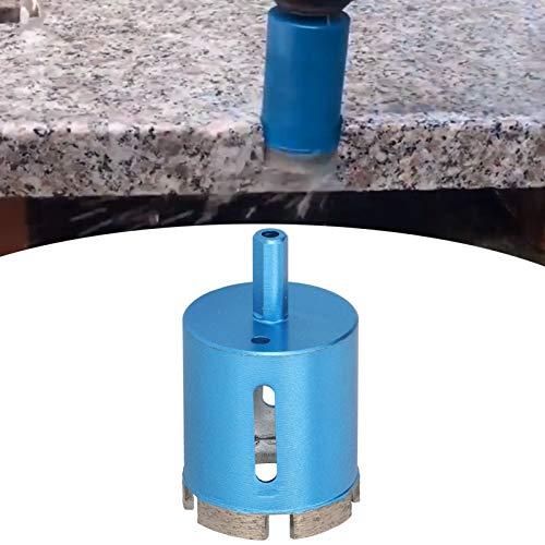 Broca de diamante, cortador de sierra perforadora de alta eficiencia Sierra perforadora de mármol de alta eficiencia Taladro eléctrico manual con orificio de viruta ovalado(50mm)