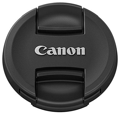 Canon E-58 II - Tapa para objetivo Canon EF y EF-S (diámetro de 58 mm), color negro