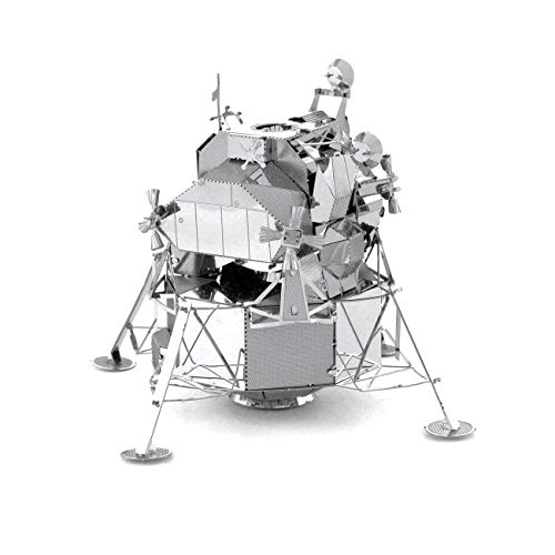 Fascinations Metal Earth Apollo Lunar Module 3D metalen puzzel, constructiespeelgoed, vanaf 14 jaar