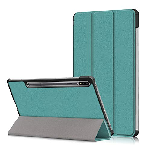 WDSUN Case for Samsung Galaxy Tab A S7 Plus, Ultra Slim Lightweight Protective Cover Case, [Auto Wake/Sleep] Tablet Stand Holder
