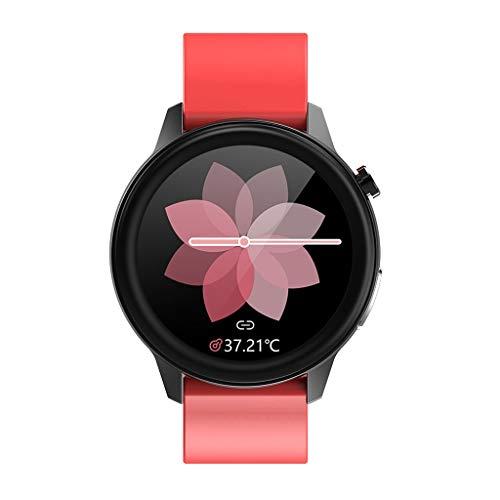Relojes de pulsera Rastreadores de Actividad, Reloj Inteligente con Pantalla Táctil de 1,33 ', Reloj Rastreador de Ejercicios A Prueba de Agua IP67 con Tecnología Portátil, Podómetro Cronómetro Reloj