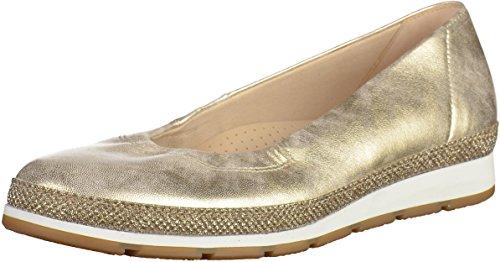 Gabor Shoes Damen Comfort Geschlossene Ballerinas, Silber (Platino (Glamour) 64), 37 EU