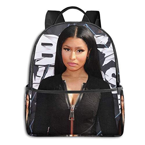 Nicki Minaj University School Large Capacity Backpack Computer Bag Unisex Suitable Hiking Variety Outdoor Sports