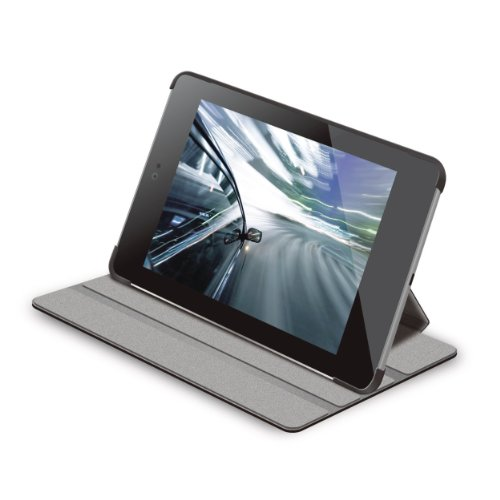 ELECOM(エレコム) Nexus7 2012用ソフトレザーカバー4段階調節タイプ(TB-ASN7APLF2BK2)