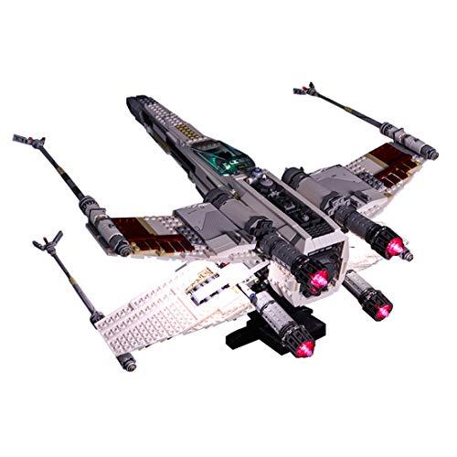 DOSGO Licht-Set Für SDI Red Star X-Wing Fighter Modell - LED Beleuchtung Light Kit Kompatibel Mit Lego 10240 (Modell Nicht Enthalten)