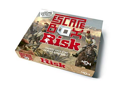 Escape Box RISK - Escape game officiel adulte de 3 à 6 joueurs - Dès 14 ans et adulte