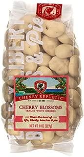 Cherry Republic White Chocolate Cherries - Authentic & Fresh White Chocolate Covered Cherries Straight from Michigan - Cherry Blossoms - 8 Ounces