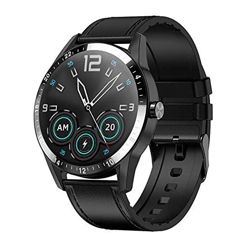 G20 Pro vs LF26 Hombres Reloj Inteligente, Accesorio de la Pulsera de Llamadas a Prueba de Agua, Bluetooth, Android iOS Dial Personalizado, 30 días de Espera de Largo,C