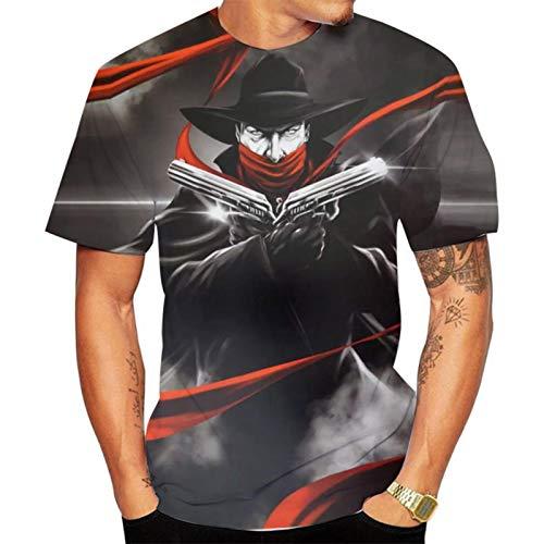 SSBZYES Camiseta para Hombre, Camiseta De Verano De Manga Corta con Cuello Redondo, Camiseta De Gran Tamaño para Hombre, Camiseta con Estampado De Miau, Sudadera De Verano para Hombre, Pulóver