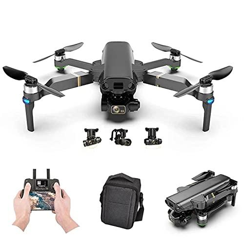 GZTYLQQ Drone GPS con cámara HD de 8K Gimbal de 3 Ejes Fotografía Profesional antivibración Sin escobillas Plegable Quadcopter Juguete 25 Minutos Tiempo de Vuelo