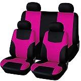 GUOCU Universal Sitzbezüge für Auto Schonbezug Komplettset,Un tamaño,