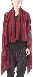 ミハイル ギニス アオヤマ MICHAIL GKINIS AOYAMA 着る ART ストール [登録意匠] 日本製 ハイテク ニット MADE IN TOKYO ギリシャ 大判 ウール Wool バーガンディ Burgundy