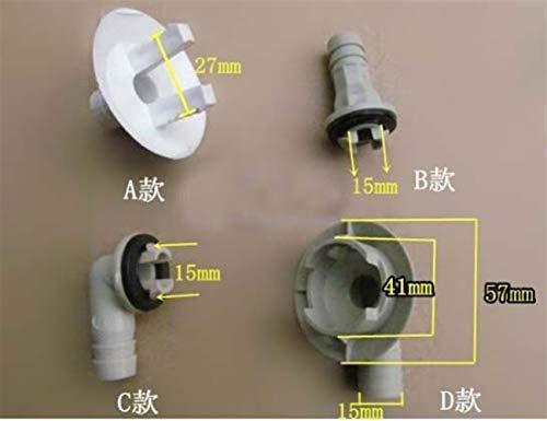 Wnuanjun, Acondicionador de Aire del tapón de Salida de Agua del desagüe del Aire Acondicionado Adaptador del Dispositivo del Tubo de desagüe (Kind : Type B)