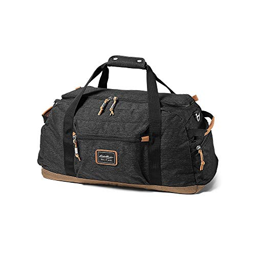Eddie Bauer Unisex-Adult Bygone 45L Duffel, Black Regular ONE SIZE