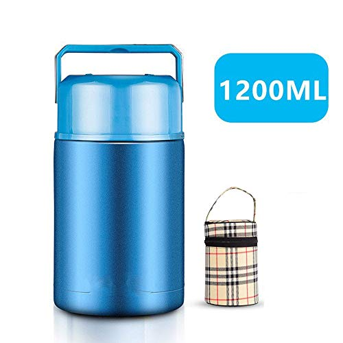 Amazing Deal DEJA Stainless Steel Food Flask Kids,Vacuum Insulated Lunch Thermos,Thermal Soup Flask ...