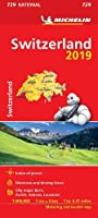 Switzerland 2019 - Michelin National Map 729 (Michelin National Maps)