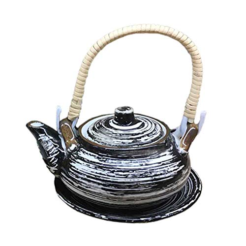 BLANCHO BEDDING Exquisito Destacado Multiusos Estilo Japonés Porcelana Tetera Sopa Olla 10#