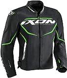 Ixon Chaqueta moto Sprinter Negro/Verde, Negro/Verde, 3XL, 10010106910613XL