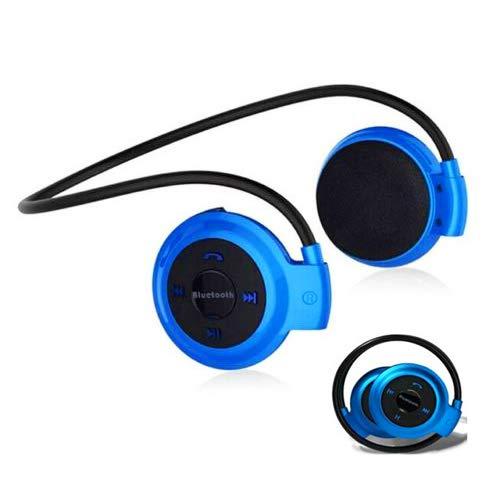 LawUza Auriculares inalámbricos Bluetooth Auriculares estéreo deportivos con radio FM