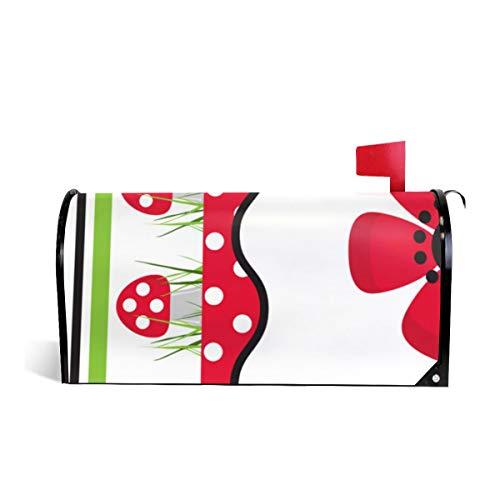 Suminla-Home Briefkasten-Abdeckung, magnetisch, Standardgröße, für den Garten, für Babybett, Quiltwall, zum Aufhängen, Briefkastenabdeckung, 53 cm x 46 cm