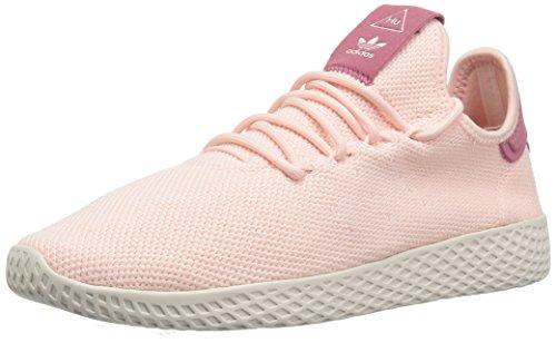 adidas Originals Women's PW Tennis HU Running Shoe, ice Pink/Chalk White, 10 M US