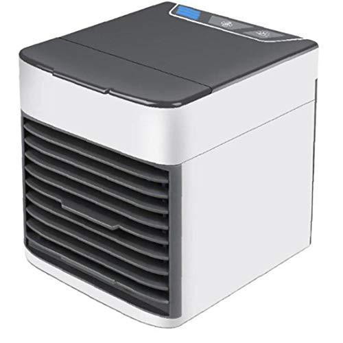 El aire frío turística de aire del ventilador del acondicionador de aire del difusor del aroma del humidificador 4 en 1 USB 3 velocidades con ligera del humor LED para Ministerio del Interior