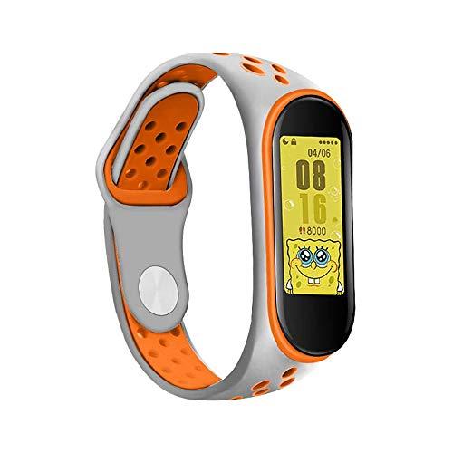 対応 Xiaomi Mi Band 3/Mi Band 4 スポーツループバンド スマート腕時計のストラップ 軽量通気性 シリカゲル バンド スポーツリストバンドバンド 腕時計のバンド 腕時計運動ベルト