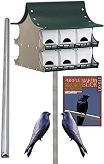 BestNest S&K 12 Room Purple Martin House Package