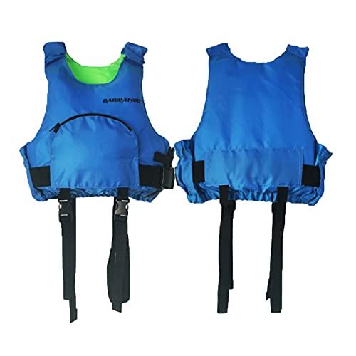 FSDH Giacca da Salvataggio per Adulti, Giacca da Nuoto Giacca Galleggiante, con Cintura di Sicurezza Regolabile, Adatto per la Pesca, Navigazione, Surf, Canottaggio, Kaya Blue-XS/S