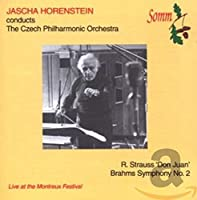 Brahms: Symphony No 2; Strauss, R: Don Juan