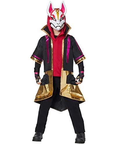 Spirit Halloween Kids 2-Fer Drift Fortnite Costume   Officially Licensed - M