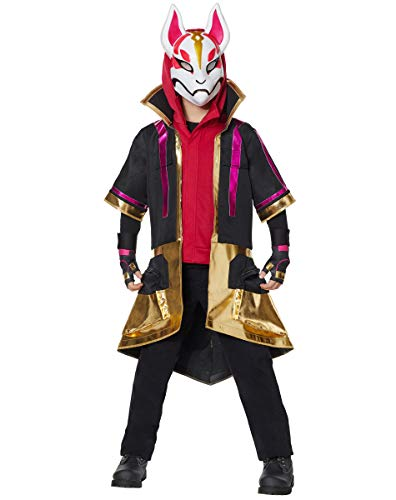 Spirit Halloween Kids 2-Fer Drift Fortnite Costume | Officially Licensed - M