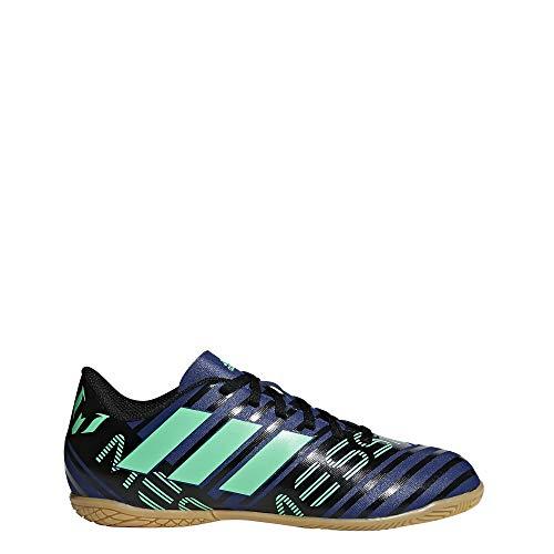 Adidas Nemeziz Messi Tango 17.4 In J, Zapatillas de fútbol Sala Unisex Adulto, Multicolor (Tinuni/Vealre/Negbas 000), 38 2/3 EU