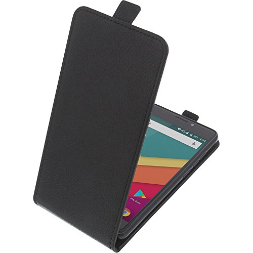 foto-kontor Tasche für Vernee Thor Plus Smartphone Flipstyle Schutz Hülle schwarz