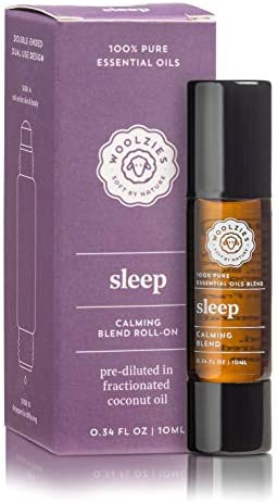 Woolzies Sleep Blend Double Ended Essential Oil Dual Use Design Roll on for Skin Body Dropper product image