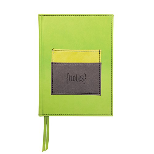 C.R. Gibson Iota Bound Journal mit Tasche, lime (ig91p-13720)